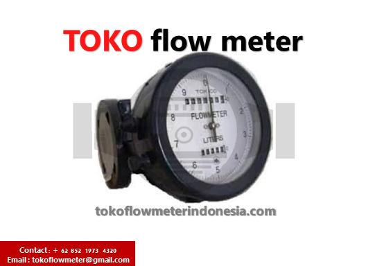 JUAL FLOW METER TOKICO 15MM RESET - TOKICO FLOW ½ INCH DN15 (FGBB423BAL-04X)