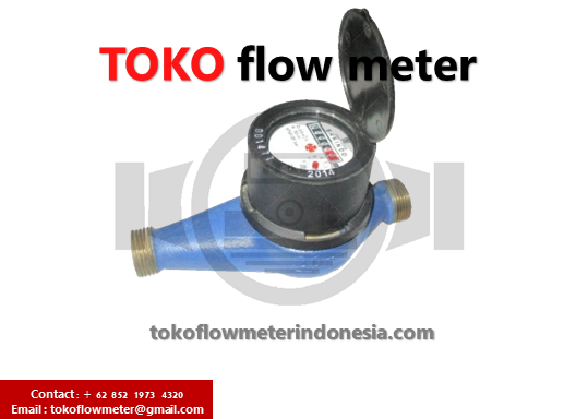 Jual Water Meter BARINDO 1/2 INCH DN15Type LD 500 - DistributorWater Meter BARINDO Type LD 500 1/2 INCH DN15 - JualWater Meter BARINDO Type LD 500 1/2 INCH DN15 - SupplierWater Meter BARINDO Type LD 500 1/2 INCH DN15
