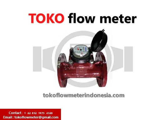 "Water meter Air panas SHM 100mm - Flow meter Air panas 90 derajat - Hot Water meter SHM 4"""