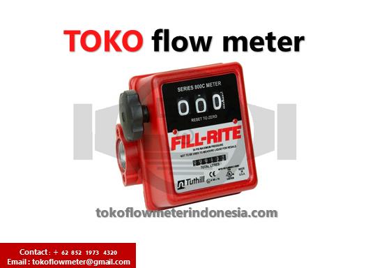 Jual Flow meter Fill rite Tn 740 - Distributor Flow meter Fill rite aliuminium nutating disc meter model : TN 740 - Agen Flow meter Fill rite