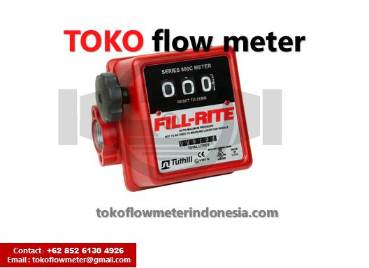 Jual flow meter FILL RITE 800C - Distributor flow meter Fill rite 800 series - fill rite 1 inch flow meter - Flow meter Fill rite 1 inch 800C